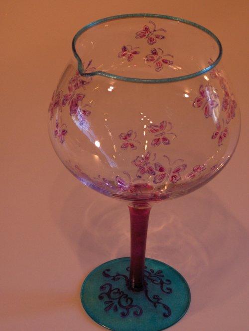 verre d canter le vin papillons blog de fanny roger. Black Bedroom Furniture Sets. Home Design Ideas