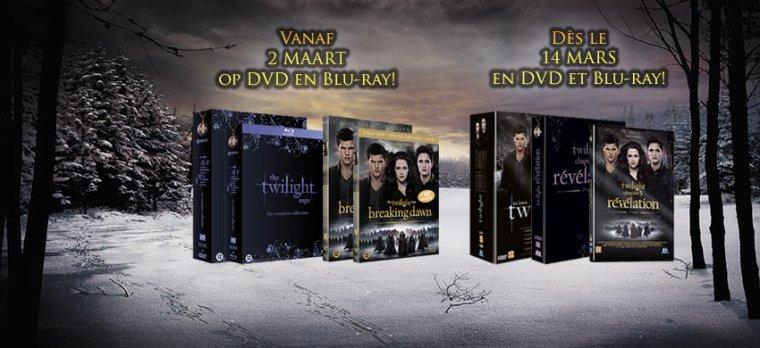 Spot TV - Twilight Chapitre 5 - DVD & Blu-Ray